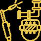 Иконка сварщик - услуги сварщика