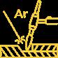 Иконка аргонодуговая сварка