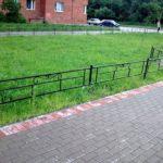 газонные ограждения металлические