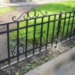 уличные ограждения газонные