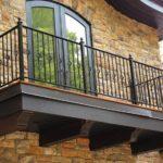 ограждения балконные кованные